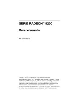 SERIE RADEON™ 9200