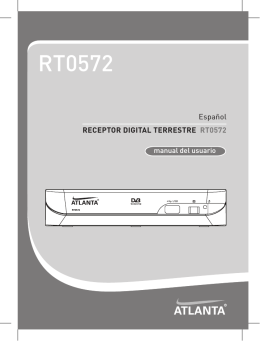 Atlanta RT0572 Manual - Recambios, accesorios y repuestos