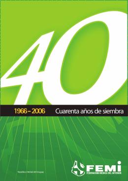 femi: 40 años de siembra