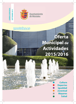 Oferta Municipal de Actividades 2015/2016