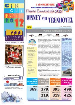 DISNEY en TRENHOTEL - Viajes