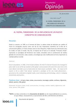 Al Yazira, paradigma de la influencia de un nuevo concepto de