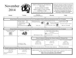 November 2014 - Ventura Unified School District