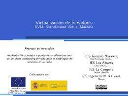 KVM - IES Gonzalo Nazareno