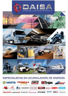 catálogo daisa 2015