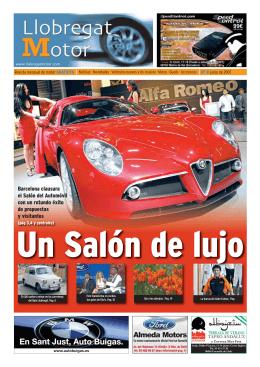 Barcelona clausura el Salón del Automóvil con un