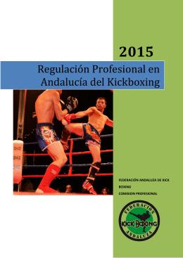 Regulación Profesional en Andalucía del Kickboxing