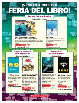 FERIA DEL LIBRO! - Scholastic Book Fair
