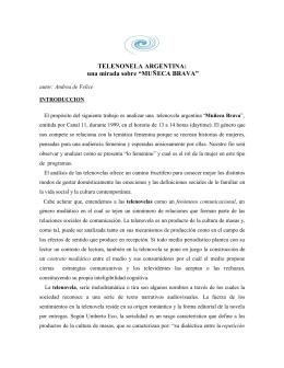 Telenovela argentina