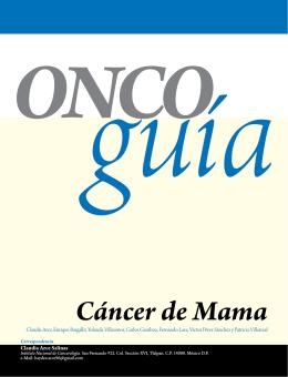 Cáncer de Mama - Instituto Nacional de Cancerología