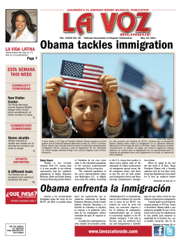 Obama tackles immigration