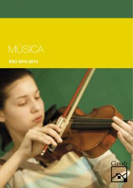 MÚSICA - Editorial Casals
