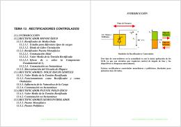 TEMA 13. RECTIFICADORES CONTROLADOS