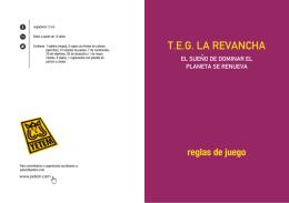 T.E.G. LA REVANCHA