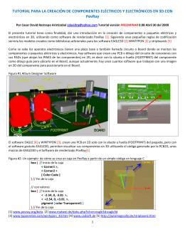 tutorial para la creación de componentes eléctricos y