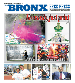 The Bronx Free Press