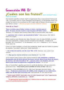 Generatión 148- Br - remanescentefiel.com.br