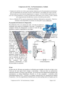 Compresores de Frío - Mantenimiento Mundial