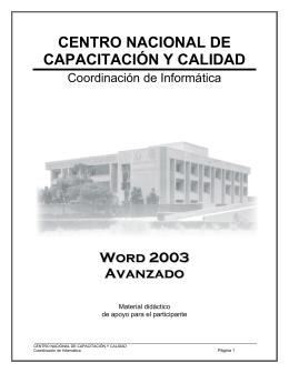 Word 2003 Parte 3