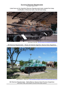 Surviving Sherman Repotenciado