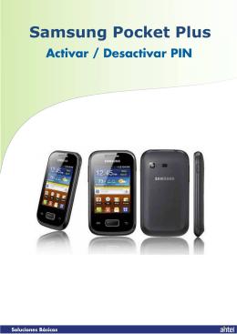 Activar-desactivar PIN
