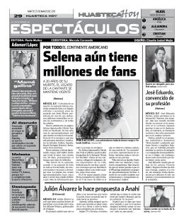 selena aún tiene millones de fans