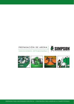 PREPARACIÓN DE ARENA - Simpson Technologies