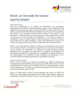 Brasil, un mercado de nuevas oportunidades