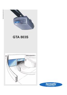 GTA 803S - Novoferm