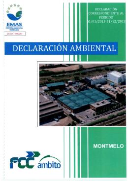 Declaració ambiental
