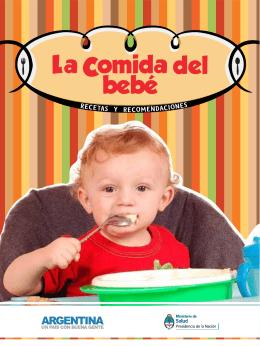 comida del bebé Recetas y recomendaciones