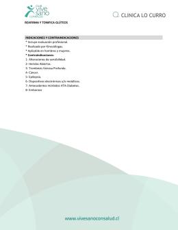 REAFIRMA Y TONIFICA GLÚTEOS INDICACIONES