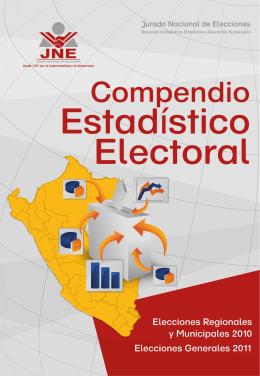 Compendio Estadístico Electoral: Elecciones Regionales y