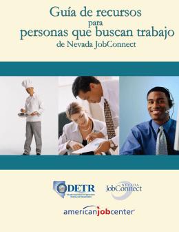 Guía de recursos para personas que buscan trabajo