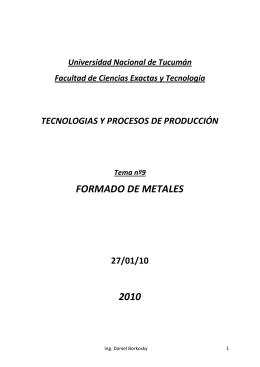 Tema9 - Universidad Nacional de Tucumán