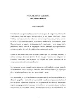 raizales DiliaPDF - Universidad del Rosario