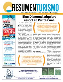 Blue Diamond adquiere resort en Punta Cana