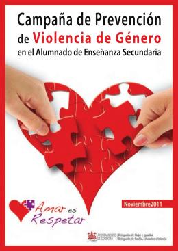 REVISTA PREV VIOLENCIA GENERO 2011.indd