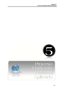 Capítulo 5 Proceso Unificado Rational Aplicado