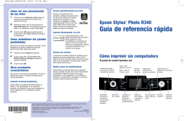 Guía de referencia rápida - Epson America, Inc.