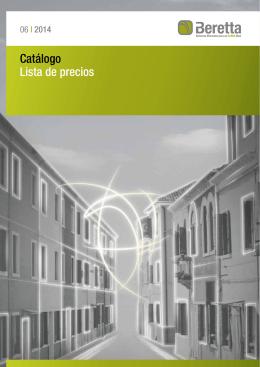 Catálogo tarifa calefacción Beretta 2014