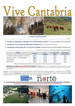 Vive Cantabria. Cabárceno y Soplao