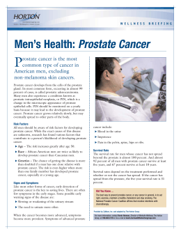 Men`s Health: Prostate Cancer