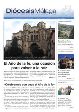 Diócesis Málaga Nº 785