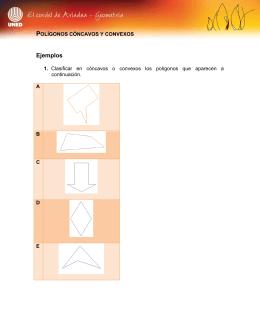 Polígonos cóncavos y convexos