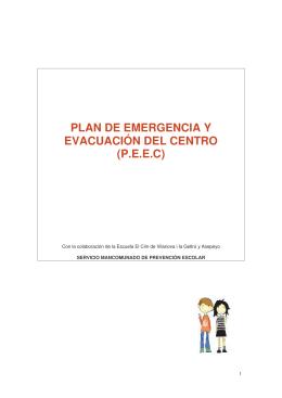 plan de emergencia y evacuación del centro (peec)