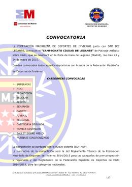 FMDI-CTO CIUDAD LEGANES-Convocatoria