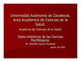 Datos Historicos de la embriología.