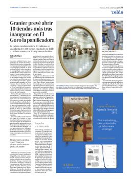 Granier prevé abrir 10 tiendas más tras inaugurar en El Goro la