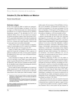 Octubre 23, Día del Médico en México